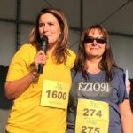 La Course en Or avec le maire Sophie Rigault et Maria Menicacci-Ferrain